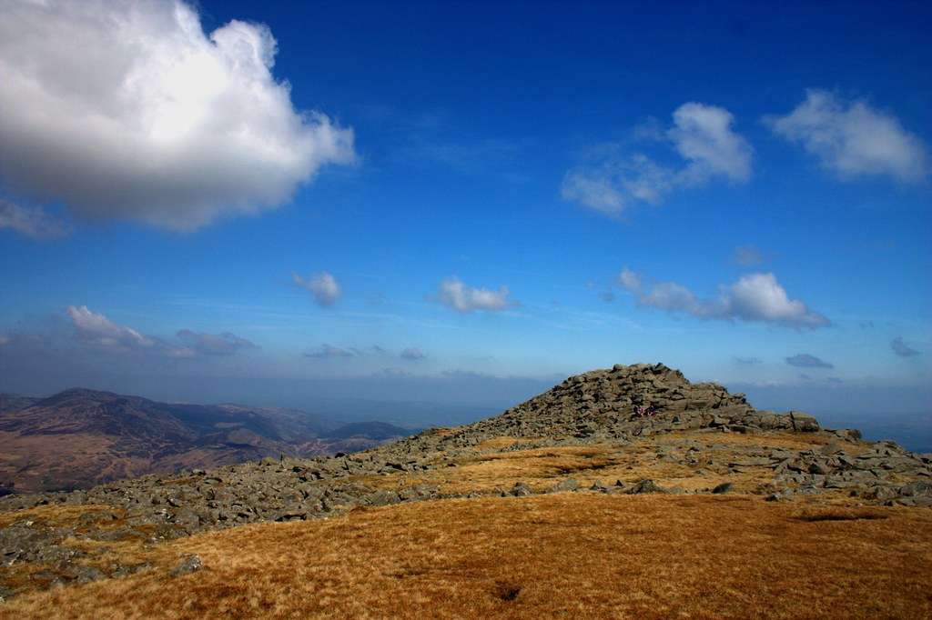The Moel Siabod ridge