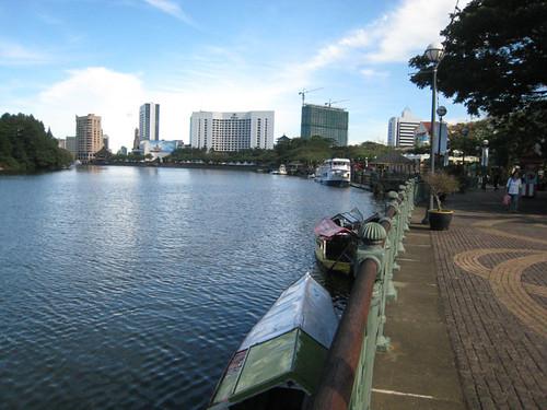 Kuching riverside esplanade