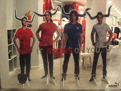 Puma joins hands with the Deccan Chargers!