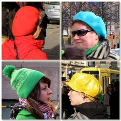 April. Colourful hats in Helsinki (Totallyme (on and off)) Tags: blue red green hat yellow portraits helsinki fdsflickrtoys 2009challenge 2009challenge112