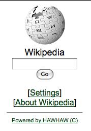 Mobile Wikipedia
