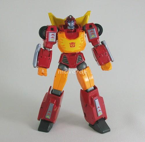 Transformers Hot Rod Revoltech