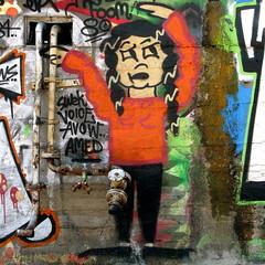 amsterdam (Akbar Sim) Tags: streetart amsterdam graffiti ndsm 200000000stagelovers akbarsimonse akbarsim