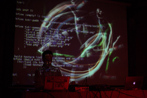 pixelpusher in action livecoding