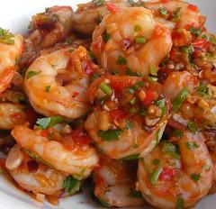 Sichuan Style Shrimp