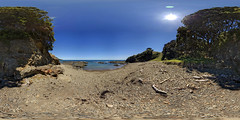 Somewhere Along the Bay of Plenty, NZ (Garret Veley) Tags: panorama landscape pano sphere nz canon5d stitched 360x180 ptgui equirectangular canon1740mm nodalninja3 garretveley