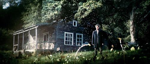 Película El Anticristo cabaña