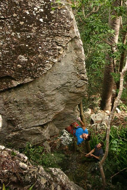 First ascent of Terracotta Warrior