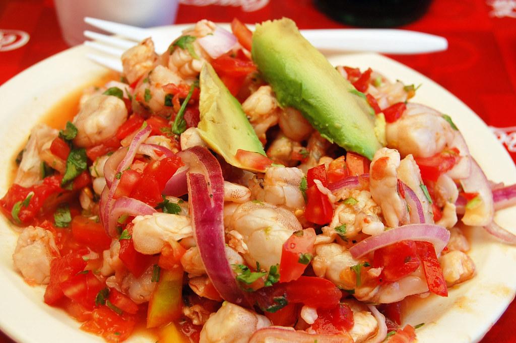 Tacos El Mazateno Tijuana,Ceviche Camarone,