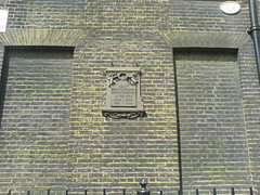 Photo of Henry Cavendish grey plaque
