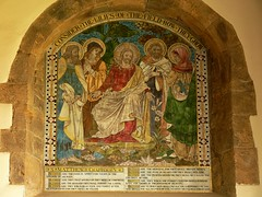 Mosaic. All Saints - Middleton Cheney