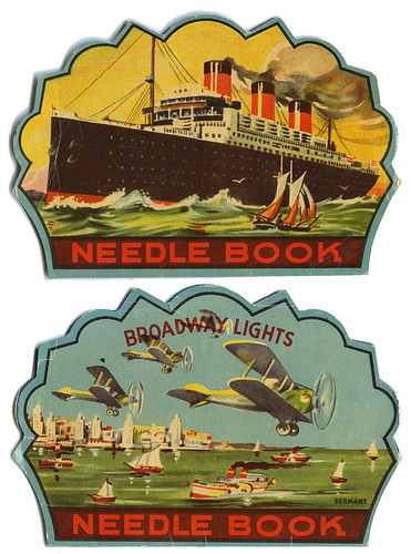 Broadway Lights Needle Book_tatteredandlost