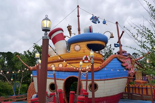 Donald's Boat, The Miss Daisy