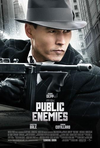 Póster de Public enemies