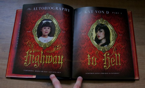 LA Ink's tattoo artist Kat Von D released her book, High Voltage Tattoo,
