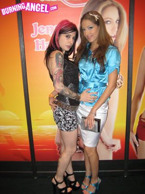 Pornstar Joanna Angel and Jenna Haze