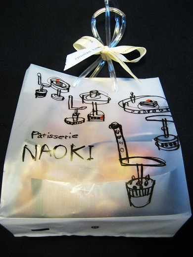 Baked confectioneries from Patisserie NAOKI
