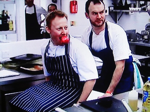 Glynn Purnell and Kenny Atkinson on Great British Menu 2009