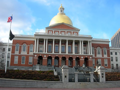 Boston, MA (JasonParis) Tags: boston massachusetts capitol dome bostoncommon statehouse massachusettsstatehouse