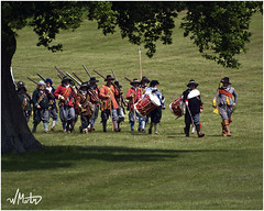 Marching to battle (Bill  M) Tags: soldier army military battle surrey cavalier pike reenactment livinghistory roundhead musket ecw sealedknot englishcivilwar parliamentarian royalist loseleypark copyrightbillmartin2009