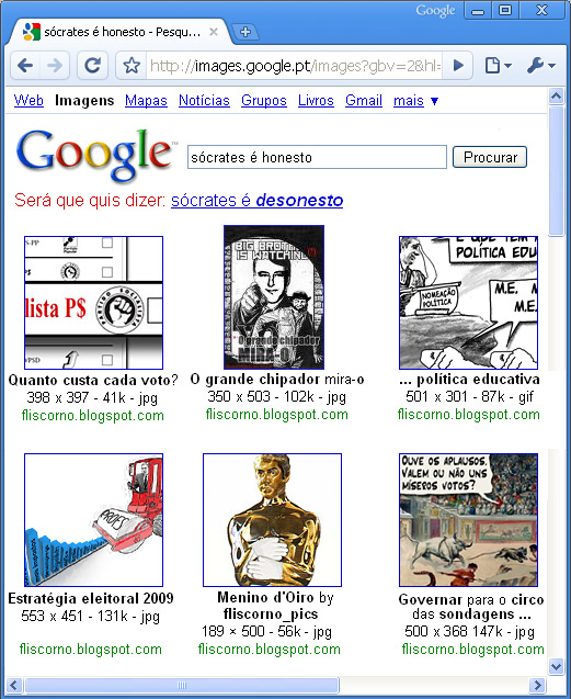 Google Search: será que quis dizer...