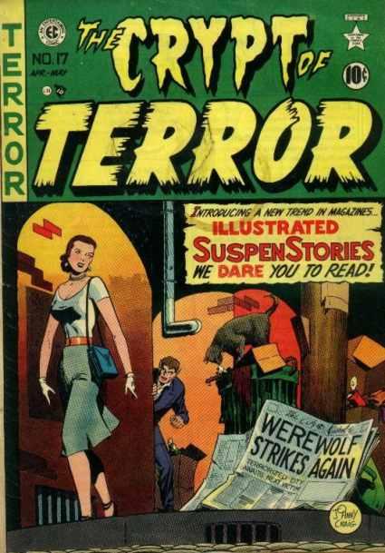 Crypt of Terror 17 - abril 1950 - crime `patrol - 28 editoriales