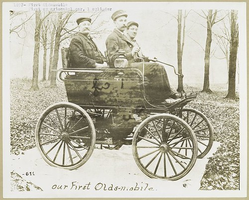 Our First Oldsmobile - 1897, New York Public Library