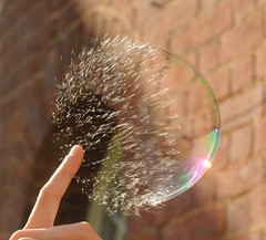 Popping Soap Bubble (richard.heeks) Tags: soap pop bubble burst explode popping soapbubble exploding implode bursting heeks