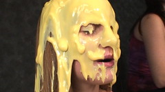 021 Amber Welcomed. (iSlime) Tags: slime gunge gunged slimed slimedgirls