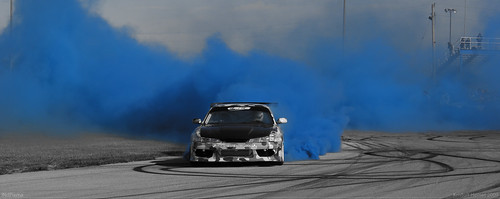 Great action shot here from the CSCS opener the color/bw contrast is amazing