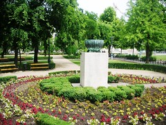 Budapest in Hungary - Parks and Statues #2