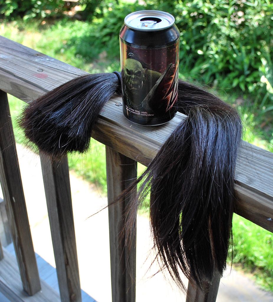 Hair can