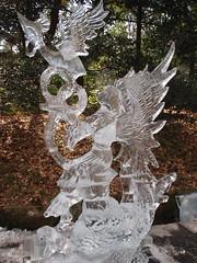 Esculturas de hielo en Harajuku