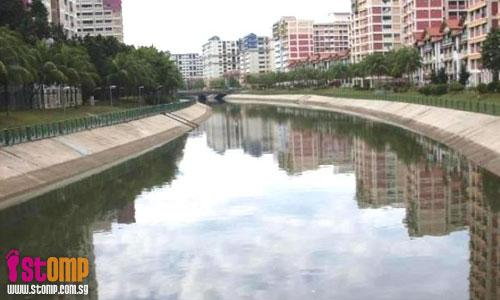A job well done in keeping Pasir Ris canal clean