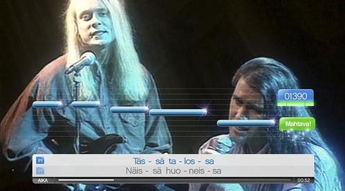 SingStar PS3 - Neon 2, Tassa Talossa