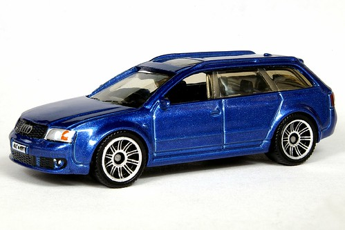 Matchbox Audi RS6 Avant Metalflake Blue - 6704df