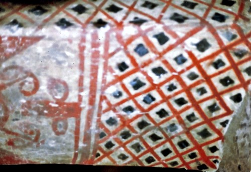 Interior templo funerario Tierradentro Cauca  Colombia