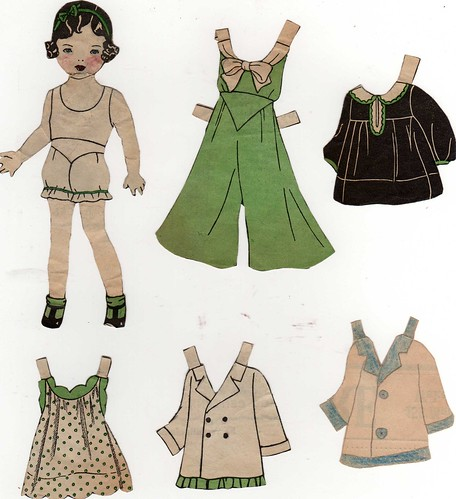 paper doll Mary