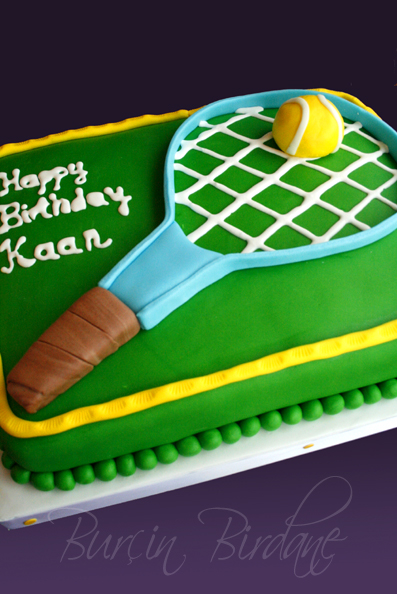 Tennis Cake 1