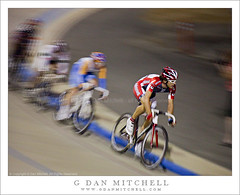 Paceline - American Velodrome Challenge (G Dan Mitchell) Tags: california county blue red orange usa white motion blur bike bicycle night speed track cyclist stock group helmet sanjose racing professional pack national santaclara biker rider velodrome participant racer peloton competitor