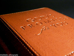 God's Promises for You #1 (Studebaker_Photography) Tags: light max macro love up leather dark studio hope for book close stitch notes you room selection note study stitches bible lesson chapter scripture binder promises lucado sphotography studebakerphotography andrewgods