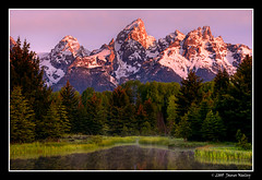 Majestic Rising (James Neeley) Tags: landscape wyoming tetons hdr grandtetonnationalpark gtnp schwabacherslanding 5xp jamesneeley
