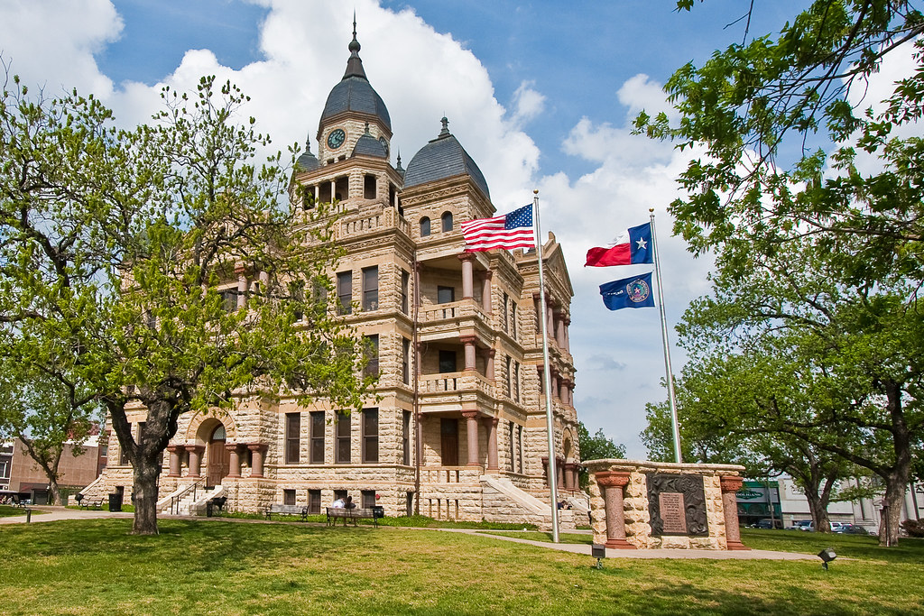 Denton County Courthouse (Retired) (Denton, Texas)
