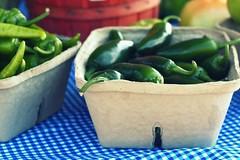 farmers market peppers