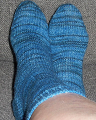 Trekking XXL sock completed (denim)