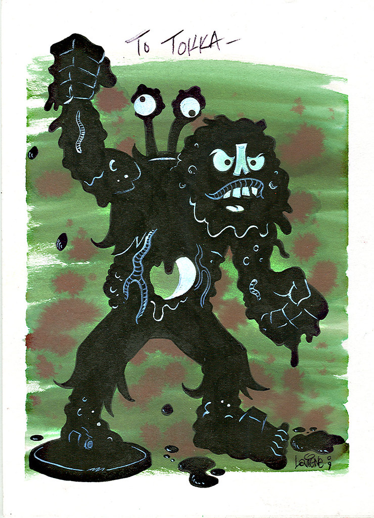 """Muckman & Joe Eyeball"" by Steve Lavigne (( 2009 ))"