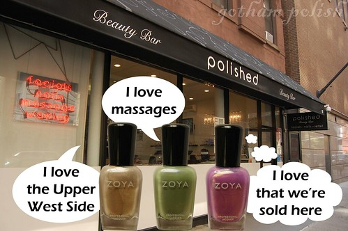 Zoya Polished Beauty Bar