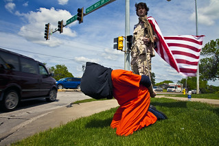 Anti-Torture Vigil - Week 48: Captain America and His Prisoner