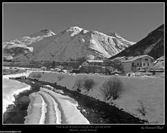 Piste de ski de fond le long de l'Arc (manoub79) Tags: france montagne alpes martinique hiver moment savoie franais antilles maurienne priode saison sommet fortdefrance franaise bessans bessan