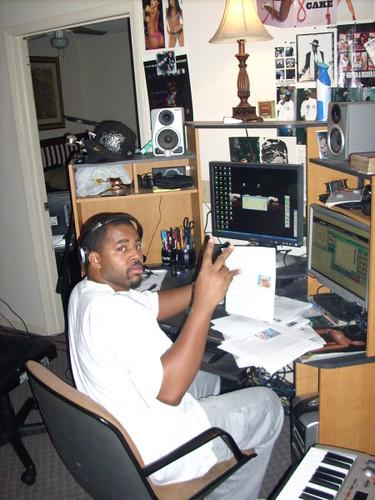 in the emg studios 2008